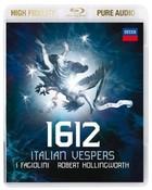1612 Italian Vespers (Blu-Ray Audio) Robert Hollingworth