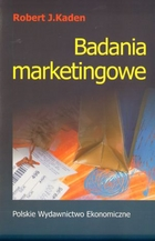 Badania marketingowe - Robert J. Kaden