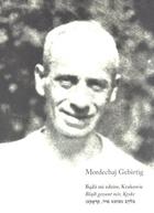 Bądź mi zdrów, Krakowie Mordechaj Gebirtig - Mordechaj Gebirtig