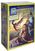 Bard Gra Carcassonne Rozszerzenie 3 Księżniczka i smok (druga edycja polska)