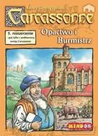 Bard Gra Carcassonne Rozszerzenie 5 Opactwo i Burmistrzowie