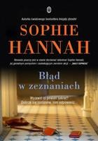 Błąd w zeznaniach Sophie Hannah - Sophie Hannah