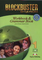 BLOCKBUSTER 1. Workbook Zeszyt ćwiczeń & Grammar Book Gramatyka - Virginia Evans, Jenny Dooley