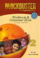 BLOCKBUSTER 2. Workbook Zeszyt ćwiczeń & Grammar Book Gramatyka - Virginia Evans, Jenny Dooley