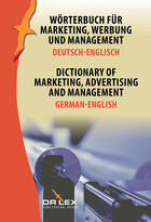 Dictionary of Marketing Advertising and Management German-English - Piotr Kapusta