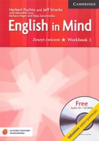 English in Mind 1. Workbook Zeszyt ćwiczeń + CD - Herbert Puchta, Jeff Stranks
