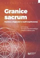 Granice sacrum Paweł Grabarczyk - Paweł Grabarczyk