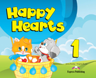 Happy Hearts 1. Pupil`s Book Podręcznik + CD + DVD - Virginia Evans, Jenny Dooley