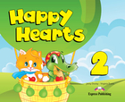 Happy Hearts 2. Pupil`s Book Podręcznik + CD + DVD - Virginia Evans, Jenny Dooley