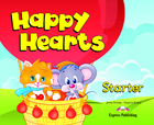 Happy Hearts Starter. Pupil`s Book Podręcznik + CD + DVD - Virginia Evans, Jenny Dooley