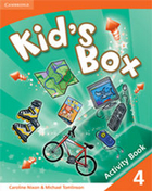Kid`s Box 4 Activity Book Zeszyt ćwiczeń with Online Resources - Caroline Nixon, Michael Tomlinson