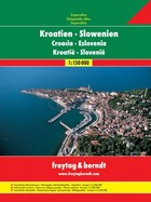 Kroatien Slowenien Autoatlas / Chorwacja Słowenia Atlas samochodowy PRACA ZBIOROWA - PRACA ZBIOROWA
