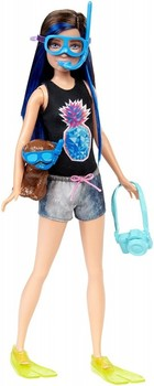 Mattel Barbie Skipper z maską do Snorkelingu -