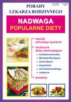 Nadwaga Popularne diety PRACA ZBIOROWA - PRACA ZBIOROWA