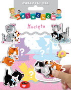 Naklejki dla maluchów Kocięta PRACA ZBIOROWA - PRACA ZBIOROWA