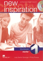 New inspiration 1. Starter Workbook Zeszyt ćwiczeń + CD - Philip Prowse, Judy Garton-Sprenger