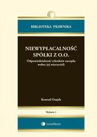 Niewypłacalność spółki z o.o. Konrad Osajda - Konrad Osajda