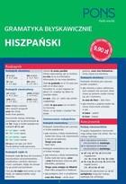PONS Gramatyka błyskawicznie Hiszpański PRACA ZBIOROWA - PRACA ZBIOROWA