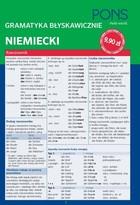 PONS Gramatyka błyskawicznie Niemiecki PRACA ZBIOROWA - PRACA ZBIOROWA