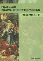 Przegląd Prawa Konstytucyjnego 1/2012 Wiesław Skrzydło - Wiesław Skrzydło