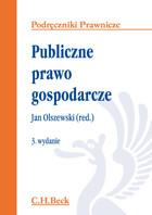Publiczne prawo gospodarcze Jan Olszewski - Jan Olszewski
