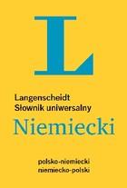 Słownik uniwersalny polsko-niemiecki niemiecko-polski PRACA ZBIOROWA - PRACA ZBIOROWA