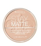Stay Matte Long Lasting Pressed Powder - 001 Transparent -