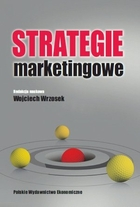 STRATEGIE MARKETINGOWE - Wojciech Wrzosek