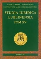 Studia Iuridica Lublinensia tom XV PRACA ZBIOROWA - PRACA ZBIOROWA