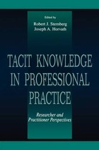 Tacit Knowledge in Professional Practice - Robert J. Sternberg, Joseph A. Horvath