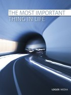 The Most Important Thing in Life - epub - PRACA ZBIOROWA