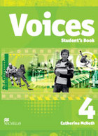 Voices 4. Student`s Book Podręcznik + CD - Catherine McBeth
