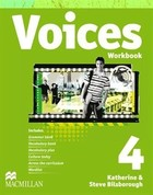 Voices 4. Workbook Zeszyt ćwiczeń + CD - Catherine McBeth