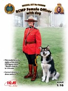 RCMP Female Officer with dog -
