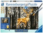 Ravensburger Touch of Gold, Jeleń w Birkenwald -