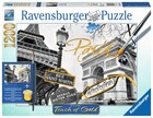 Ravensburger Touch of Gold Paryż Puzzle do malowania -