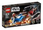 LEGO Star Wars A-Wing kontra TIE Silencer 75196 -