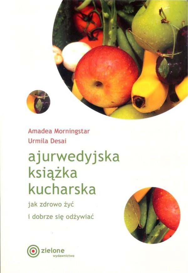 Ajurwedyjska Książka Kucharska Miękka
