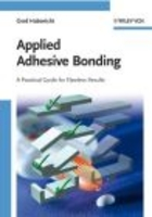 Applied Adhesive Bonding - D. Aaker