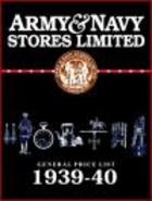 Army & Navy Stores General Price List 1939-40 -