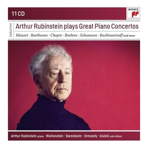 Arthur Rubinstein Plays Great Piano Concertos