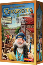 Bard Gra Carcassonne - Opactwo i Burmistrz (druga edycja polska)