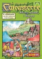 Bard Gra Carcassonne Rozszerzenie 8 Mosty, Zamki i Baszty