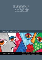 Blok Mix Media Happy Color A3 25 arkuszy -