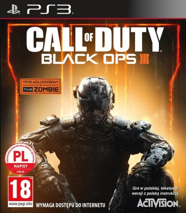 Gra Call of Duty Black Ops 3 (PS3)