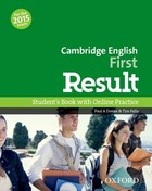 Cambridge English First Result. Student`s Book Podręcznik with Online Practice - Paul A. Davies, Tim Falla