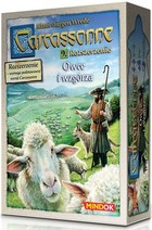 Bard Gra Carcassonne : Owce i wzgórza (druga edycja polska)