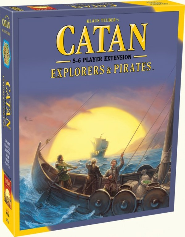 Gra Catan Explorers & Pirates Extension for 5-6 players - Wersja Angielska