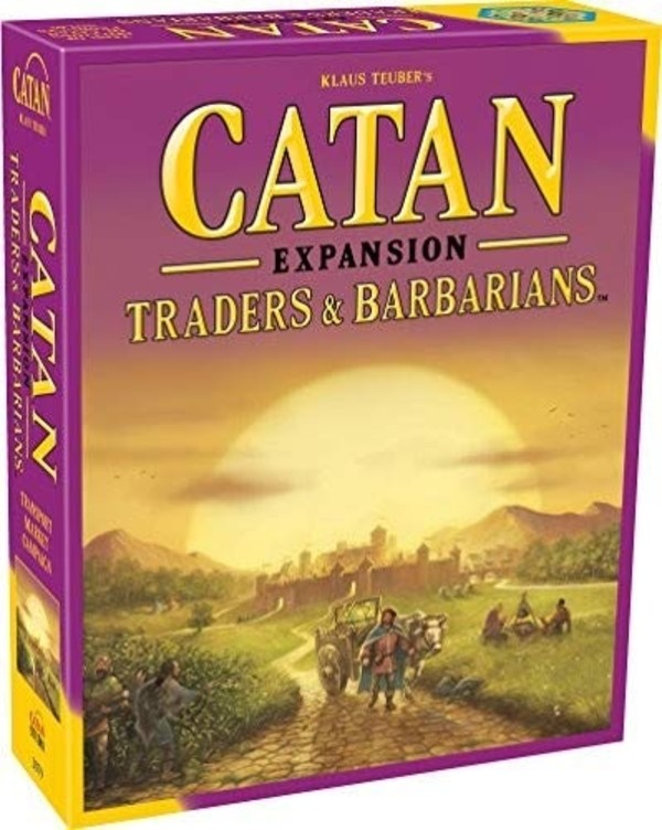 Gra Catan Traders & Barbarians Extension for 5-6 players