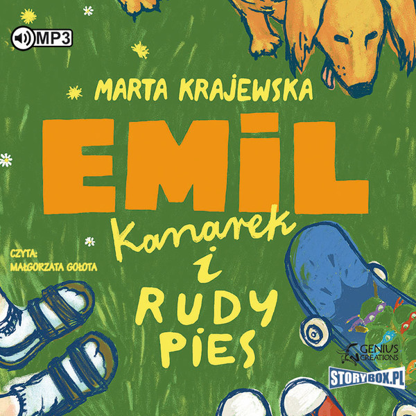 Emil, kanarek i rudy pies audiobook CD/MP3